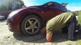 замена переднего ступичного подшипника на Mazda 6 2008