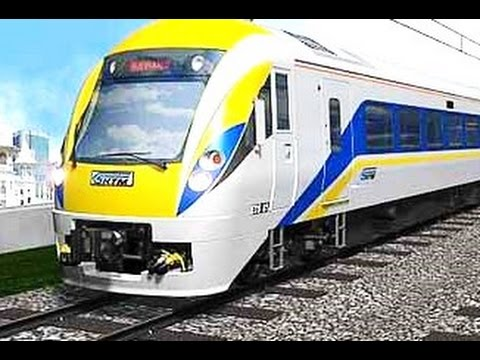ETS (Electric Train Service) - Public Transportation in Malaysia [HD]