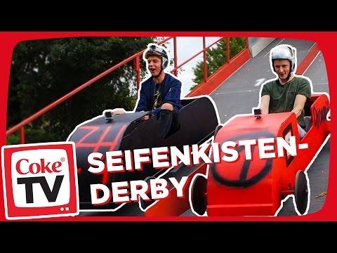 Jonas beim Seifenkistenrennen | #CokeTVMoment