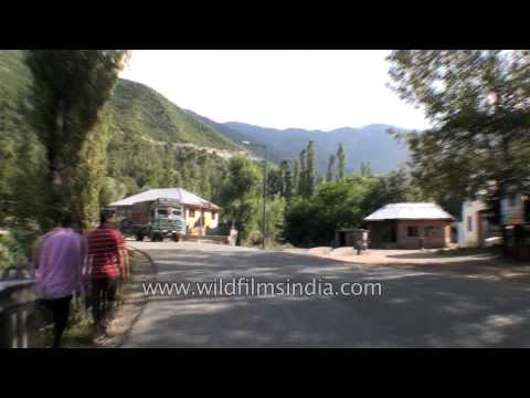 Driving from Qazigund town to Jawahar tunnel - Part 2