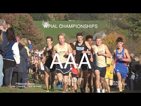 2017  WPIAL  CHAMPIONSHIPS   AAA  BOYS  XC  10-26-17 and AWARDS