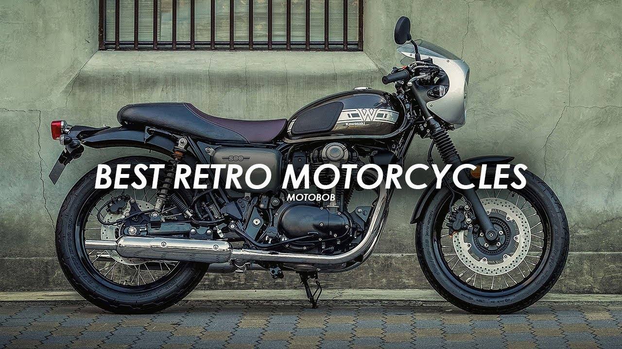 15 Best Retro Motorcycles 2019 - YouTube