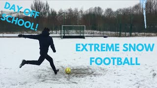 FOOTBALL IN CRAZY SNOW WEATHER - NO EXCUSES NOT TO TRAIN! A DAY OFF SCHOOL! False 9
