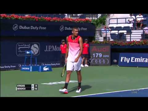 Nick Kyrgios' act of sportsmanship