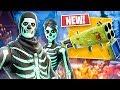 *NEW* Quad Launcher Gameplay & Skull Trooper/Skull Ranger Skins!! (Fortnite LIVE Gameplay)