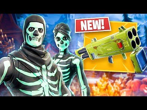 new-quad-launcher-gameplay-skull-trooper-skull-ranger-skins-fortnite-live-gameplay