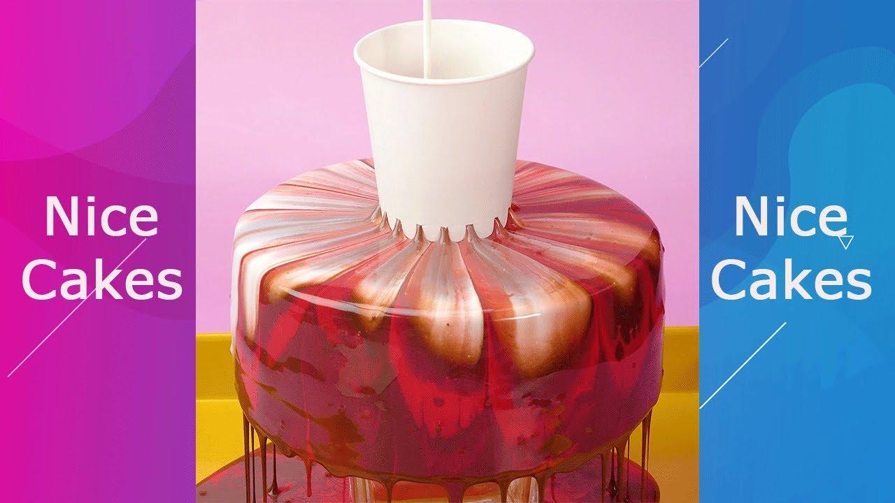 Awesome Glaze Cake Decorating #Shorts