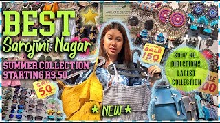 *NEW* SAROJINI NAGAR 2019 Collection For Girls   DIRECTIONS TO BEST SHOPS Rs.50  ThatQuirkyMiss