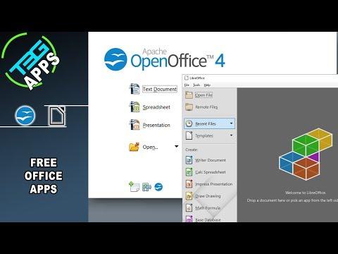 Free Office Apps! OpenOffice And LibreOffice | App Spotlight
