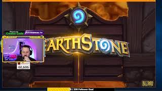 Hearthstone Stream!  I'm a NEWB again!