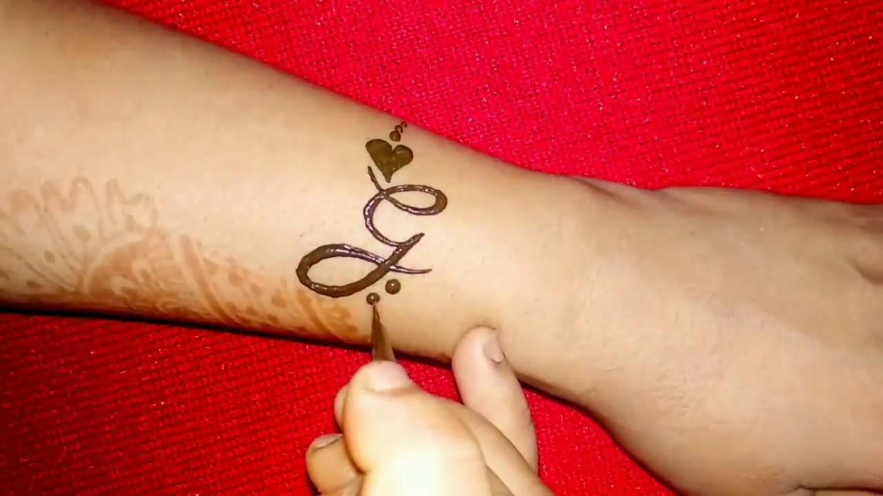 Henna Tattoo Alphabet