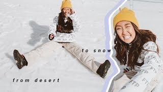 From The Desert To The Snow