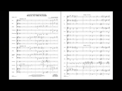 Back to the Future by Alan Silvestri/arr. Michael Sweeney