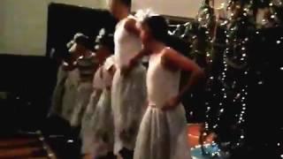 РЖАЧНОЕ відео.Танець сніжинок