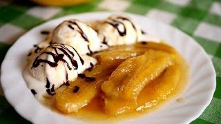 Банановый десерт за 5 минут. Вкуснейшее лакомство