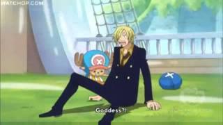 One Piece Funny Clip- Sanji Returns!