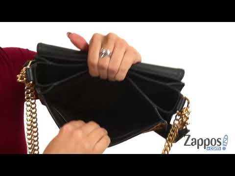 f830363e0138 Tory Burch Chelsea Leopard Calf Hair Shoulder Bag SKU: 8976663 - YouTube