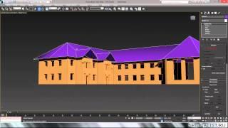 Фрагмент занятий по курсу «Autodesk 3ds Max 2014. Технологический и промышленный дизайн»