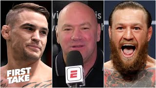 Dana White previews Conor McGregor vs. Dustin Poirier at UFC 257 | First Take