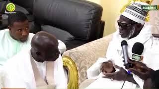 Idrissa SECK reçu par le Khalife Général des Mourides Serigne Mountakha MBACKE