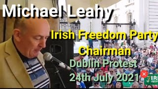 Stand up for your nation, the Republic and your God given freedoms - Michael Leahy