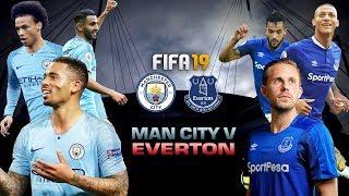FIFA 19 | แมนเชสเตอร์ ซิตี้ VS เอฟเวอร์ตัน | พรีเมียร์ลีก 2018-19 | 1080p 60fps