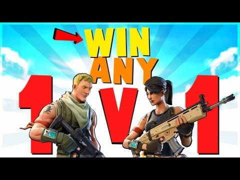 4 Ways to WIN EVERY 1v1 Fight | Fortnite Battle Royale Advanced Combat and Building Tips