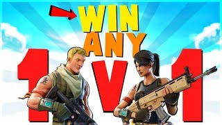4 Ways to WIN EVERY 1v1 Fight | Fortnite Battle Royale Advanced Combat and Building Tips thumbnail