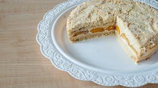 Пирог с абрикосами - простой и вкусный рецепт