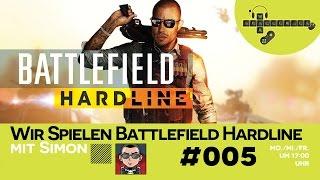Wir Spielen Battlefield Hardline #005 - Leo der Informant [mit Simon]
