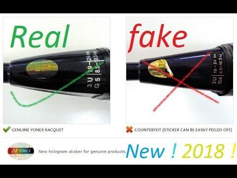 Identify Fake Yonex Rackets [Pro Badminton™]