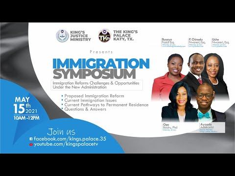 IMMIGRATION SYMPOSIUM & TOWN HALL