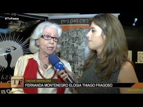 """Fernanda Montenegro sobre cena com Lima Duarte: """"Quem sabe um beijinho?"""""""