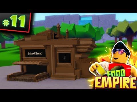 Food Empire #11! - POTATO BREAD UPDATE   Roblox