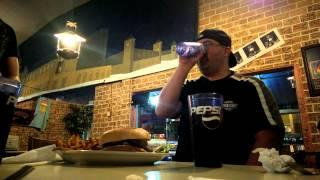 "Matt Tries To Eat The Challenge Burger At ""kc Smoke Burgers"""
