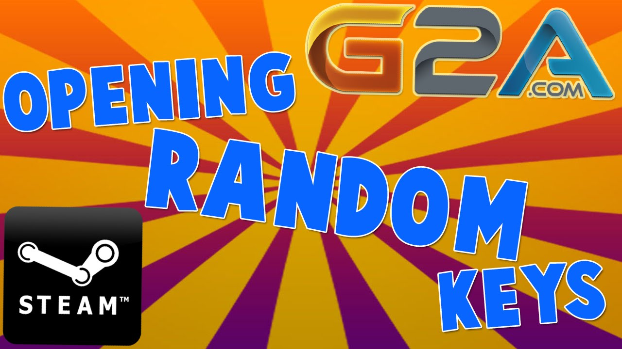 G2A com Opening Random Steam CD-Keys! (5 random keys + 1 premium key!)