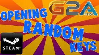 G2A.com Opening Random Steam CD-Keys! (5 random keys + 1 premium key!)(Check out G2A for cheap games! https://www.g2a.com/r/sirjambon More random key opening HERE: Get your own 5 random Steam keys here: ..., 2015-11-07T17:36:08.000Z)