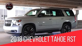 2018 Chevrolet Tahoe RST Premier Test Drive and Review