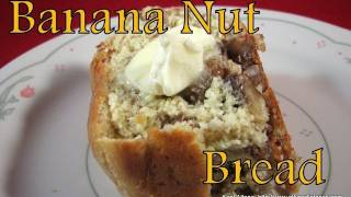Atkins Diet Recipes: Low Carb Banana Nut Bread (e-if)