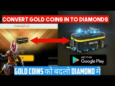 How To Convert Gold Coins In To Diamonds In Garena Free Fire( No Hack )