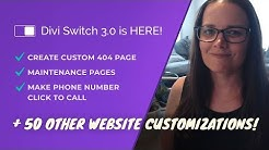 Divi Switch 3.0 is Here! Page Specific Logo, App Style Menu + 50 Other Customization's!