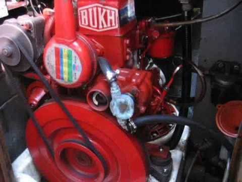 Bukh Dv10 Marine Diesel Youtube