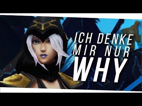 NiksDa - I'm only thinking WHY?! (Legends Never Die Parody) feat. KrokettenKalle