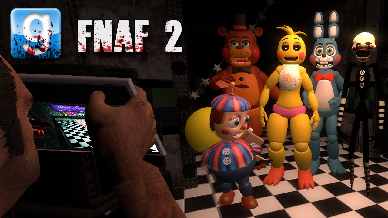 Gmod SCARIEST MAP EVER | Five Nights At Freddy's 2 Events