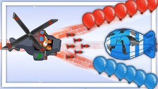 I Attempted The Military Only Challenge And This Happened in Bloons TD 6