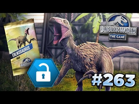 Erlikosaurus Tournament! || Jurassic World - The Game - Ep263 HD