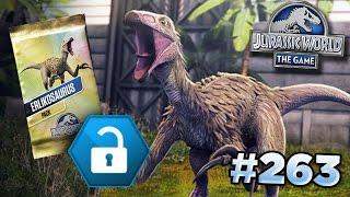 Erlikosaurus Tournament!    Jurassic World - The Game - Ep263 HD