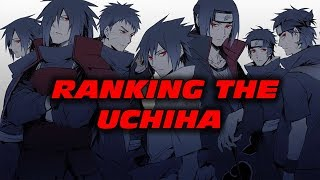 Ranking the Uchiha from Weakest to Strongest