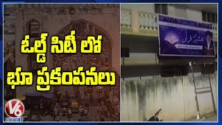 Minor Earthquake In Hyderabadand#39;s Old City