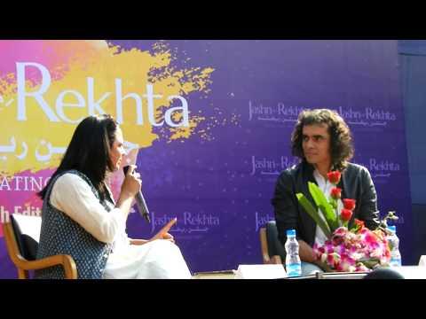 Imtiaz ali at Jashn-e-rekhta (full conversation)
